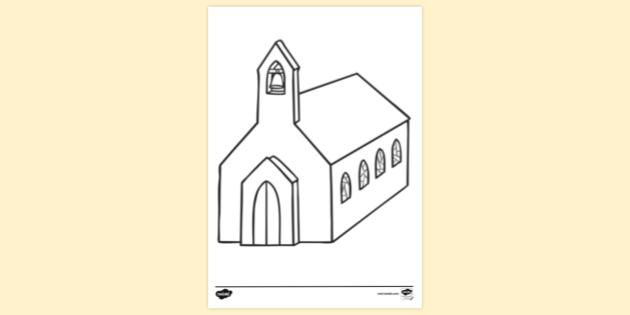 FREE! - Printable Colouring Pages For Children's Church