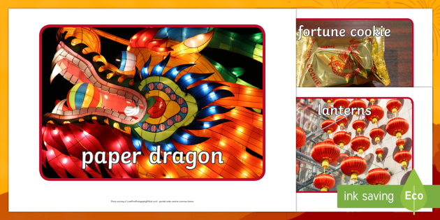 Chinese New Year Display Photos - Display Posters, Chinese new year, A4, display, posters, China, lantern, dragon, chopsticks, noodles, year of the rabbit, ox, snake, fortune cookie, pig
