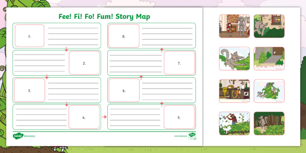 Fee fi fo fum story map twinkl originals fiction ks1 story map twinkl originals fiction publicscrutiny Image collections