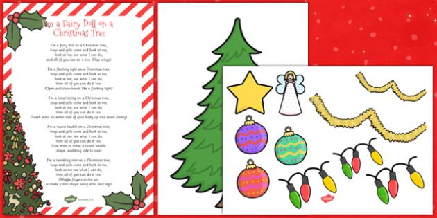 I'm a Fairy Doll on a Christmas Tree Song Pack - fairy, christmas