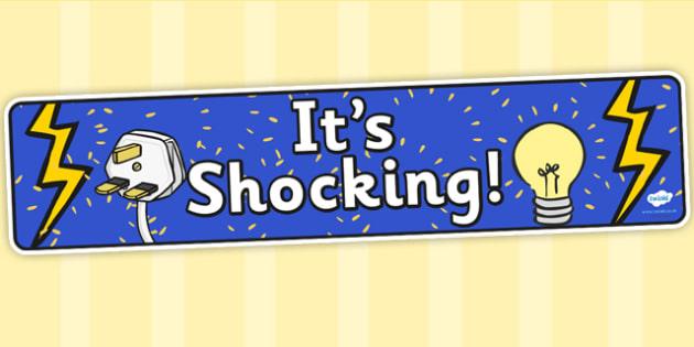 Its Shocking Display Banner - its shocking, IPC, IPC display banner, its shocking IPC, its shocking display banner, its shocking IPC display
