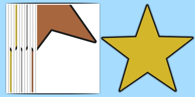 Large Bronze Silver Gold Star Cutouts - large, bronze, silver, gold, star, cut outs