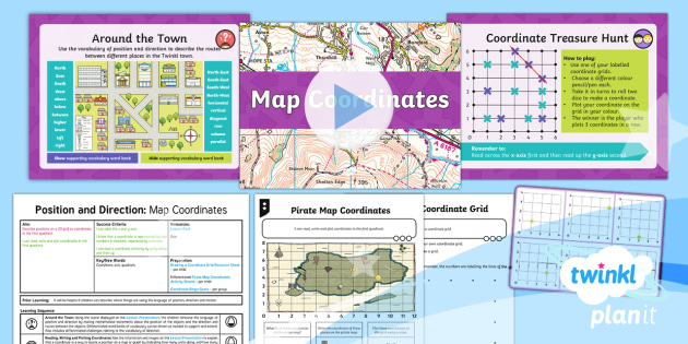 PlanIt Maths Y4 Position and Direction Lesson Pack Coordinates (3)