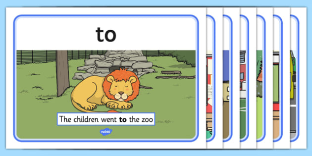 To, Too and Two Homophones Display Posters - homophones, to, too, two