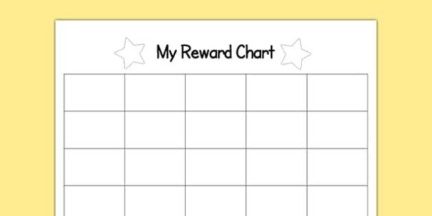 Space Sticker Editable Reward Chart   Space Sticker