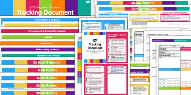 EYFS Tracking and Assessment Pack for Childminders - childminder