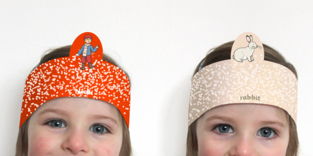 The Mitten Role Play Headband - the mitten, role-play, headband