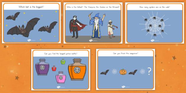 Halloween Activity Worksheets - Spooky, October,patterns, numbers, activity, filler, worksheet, sheet, colours