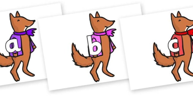 Phase 2 Phonemes on Small Fox 4 to Support Teaching on Fantastic Mr Fox - Phonemes, phoneme, Phase 2, Phase two, Foundation, Literacy, Letters and Sounds, DfES, display