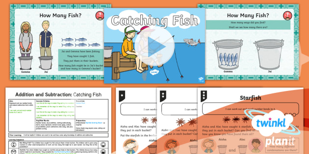 PlanIt Maths Y1 Addition and Subtraction Lesson Pack Exploring Number Bonds (1)
