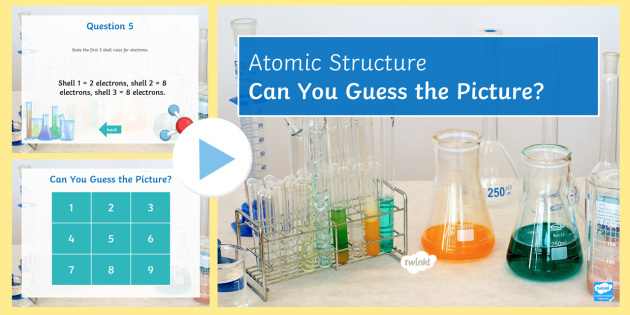 Atomic structure and the periodic table quick quiz electrons atomic structure and the periodic table quick quiz electrons protons neutrons atomic urtaz