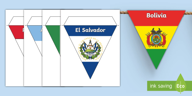 new hispanic heritage month flags bunting early childhood