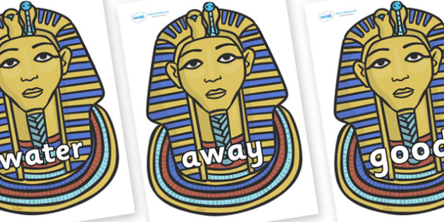Next 200 Common Words on Mummy Masks - Next 200 Common Words on  - DfES Letters and Sounds, Letters and Sounds, Letters and sounds words, Common words, 200 common words