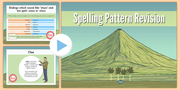 Year 5 and 6 Spelling Pattern Revision - year 5, year 6, spelling, pattern, revision