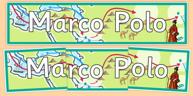 Marco Polo Display Banner - marco polo, display banner, display, banner, ks2