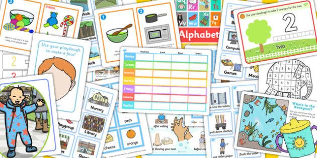 Toddler Resource Pack - toddler, resource pack, resources, pack