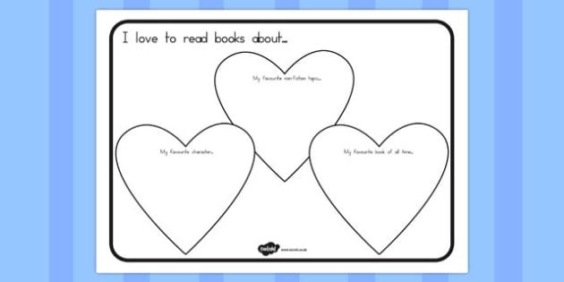 I Love to Read Worksheet - australia, I love to read, read, worksheet