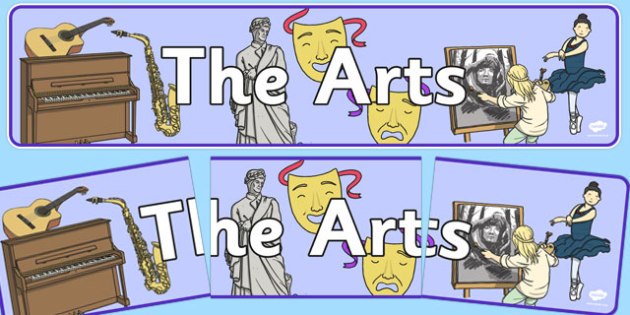 The Arts Display Banner NZ - new zealand, the arts, display banner, display, banner