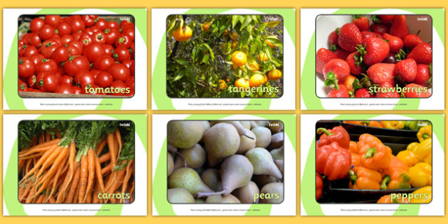 Harvest Fruit and Vegetable Display Photos - Display Posters, A4, display, posters, harvest, harvest festival, fruit, apple, pear, orange