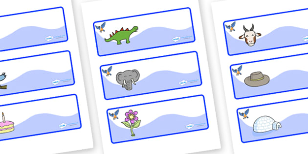 Starling Themed Editable Drawer-Peg-Name Labels - Themed Classroom Label Templates, Resource Labels, Name Labels, Editable Labels, Drawer Labels, Coat Peg Labels, Peg Label, KS1 Labels, Foundation Labels, Foundation Stage Labels, Teaching Labels