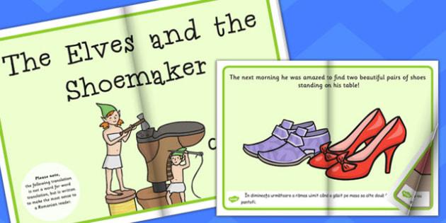 The Elves and Shoemaker eBook EAL Romanian Translation - Romanian