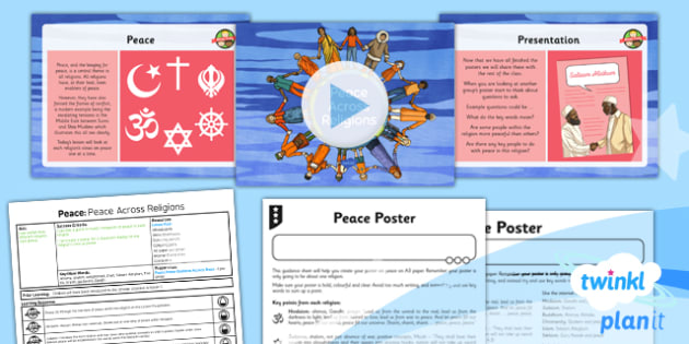 RE: Peace: Peace Across Religions Year 5 Lesson Pack 2