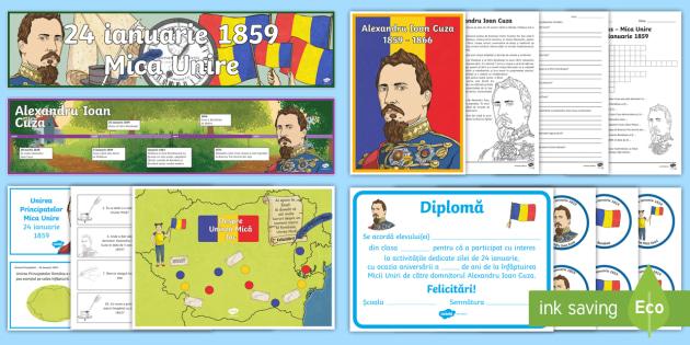 Unirea Principatelor Române Pachet Cu Resurse Mica Unire