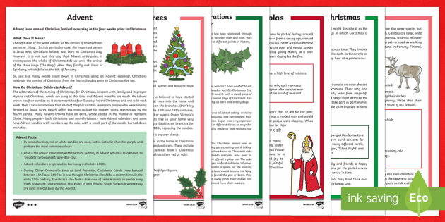 new ks2 christmas differentiated reading comprehension activity pack english spanish christmas