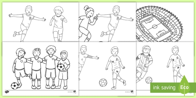 - Football Coloring Pages (teacher Made)
