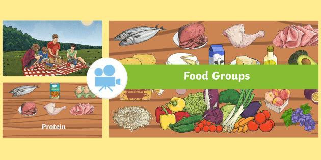 Quick Facts: Food Groups Video - KS1, KS2, science, key