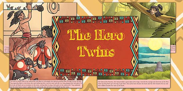 The Hero Twins Mayan Civilization Story - ancient maya, mayans