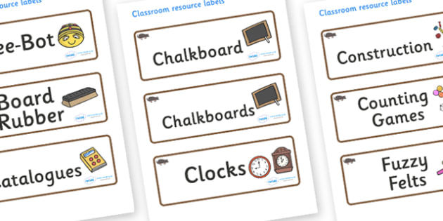 Mole Themed Editable Additional Classroom Resource Labels - Themed Label template, Resource Label, Name Labels, Editable Labels, Drawer Labels, KS1 Labels, Foundation Labels, Foundation Stage Labels, Teaching Labels, Resource Labels, Tray Labels, Pri