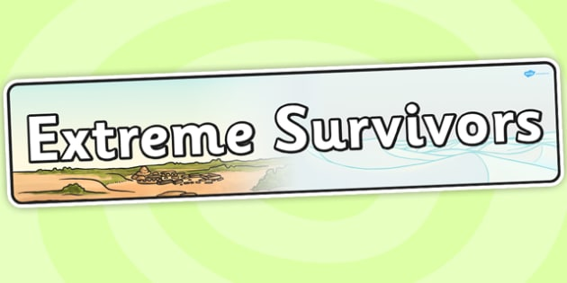 Extreme Survivors Topic Display Banner - IPC, header, display