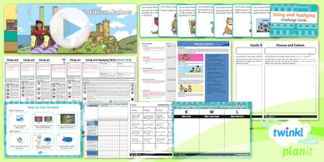 Computing: Using and Applying Year 2 Unit Pack