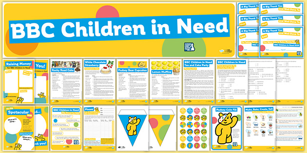 BBC Children in Need Fundraising Pack for Parents