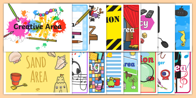 classroom area signs for early years and ks1 classroom area rh twinkl co uk