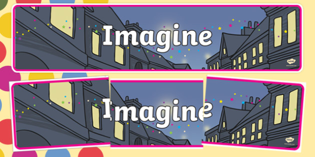 Roald Dahl Imagine Display Banner
