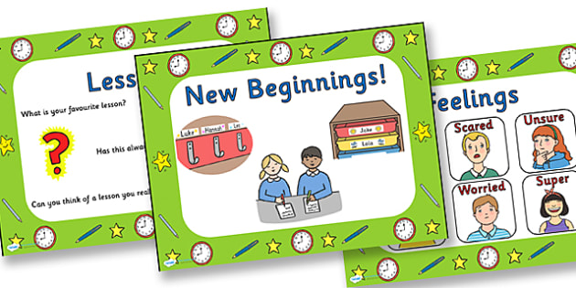 New Beginnings Discussion Starter PowerPoint - powerpoint, discussion starter powerpoint, new beginnings powerpoint, new beginnings discussion starter