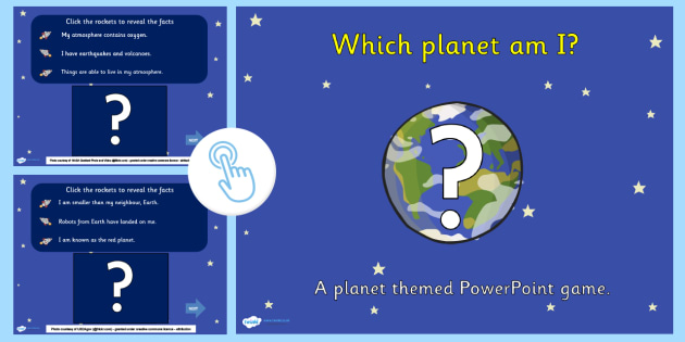 Which Planet Am I Interactive PowerPoint Game - planets, interacive powerpoint, interactive, powerpoint, interactive games, planets powerpoint