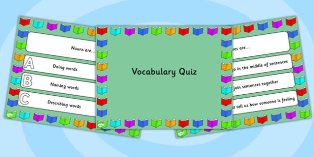 Vocabulary PowerPoint Quiz - vocabulary, powerpoint, quiz, vocab