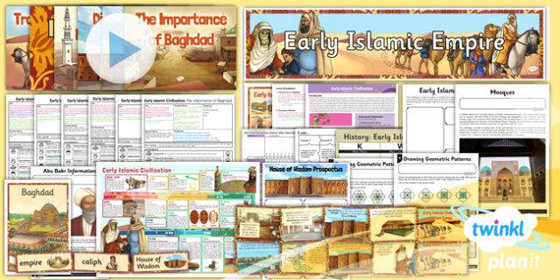 History: Early Islamic Civilisation UKS2 Unit Pack