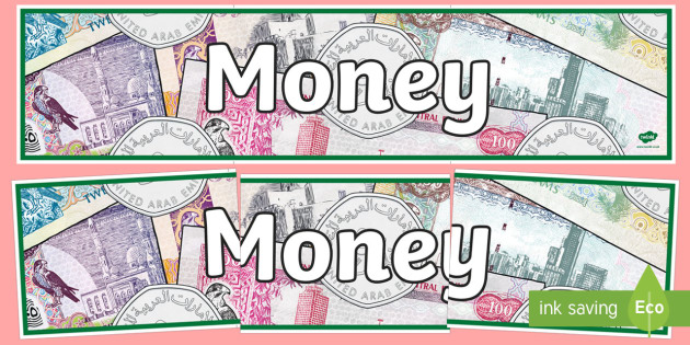 Money Display Banner - money, display banner, display, banner, cash, pay, united arab emirate