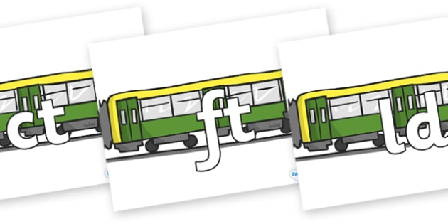 Final Letter Blends on Trains - Final Letters, final letter, letter blend, letter blends, consonant, consonants, digraph, trigraph, literacy, alphabet, letters, foundation stage literacy