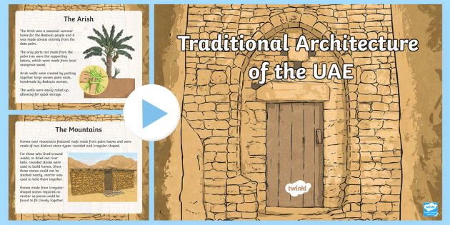 Traditional Architecture Of The Uae Powerpoint