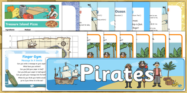 Childminder Pirates Resource Pack