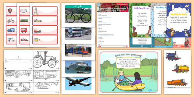 Transport-Themed Intergenerational Toddler Singing Group Resource Pack - Intergenerational Ideas,transport , singing, ideas, support, activities, care givers, activity coord