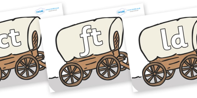 Final Letter Blends on Wagons - Final Letters, final letter, letter blend, letter blends, consonant, consonants, digraph, trigraph, literacy, alphabet, letters, foundation stage literacy