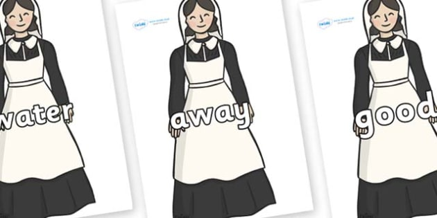 Next 200 Common Words on Florence Nightingale - Next 200 Common Words on  - DfES Letters and Sounds, Letters and Sounds, Letters and sounds words, Common words, 200 common words