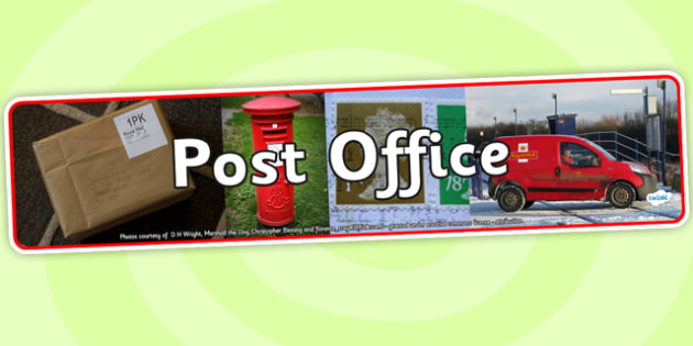Post Office Photo Display Banner - post office, photo display banner, photo banner, banner, banner for display post office banner, header, display header