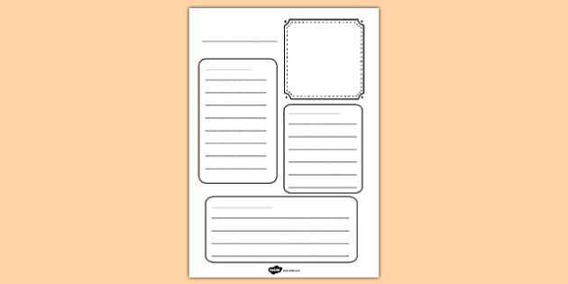 Blank Factfile Worksheet - blank, factfile, worksheet, work sheet